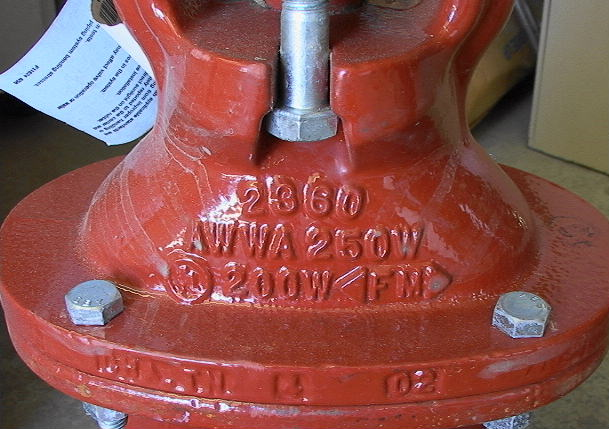 4 Quot Gate Valve Mueller 2360 Series Resilient Wedge Epoxy Ebay