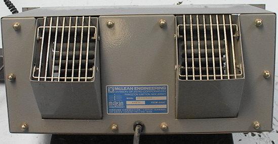 McLean Engineering Rack Cooling Fan