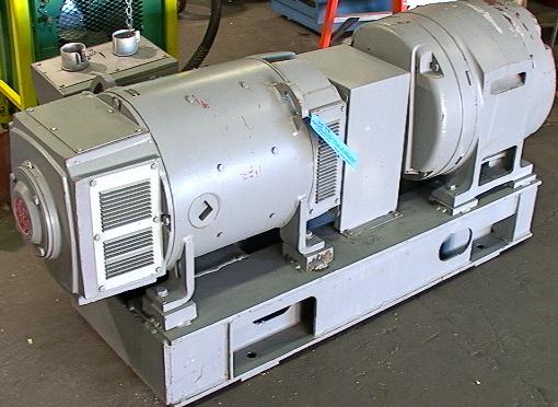 65kw motor generator clean power 250 volts dc 260 amps for Dc generators and motors