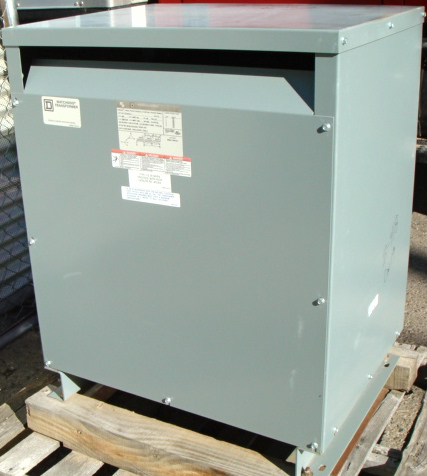 Square D Sorgel WatchDog 75 KVA Transformer With Taps