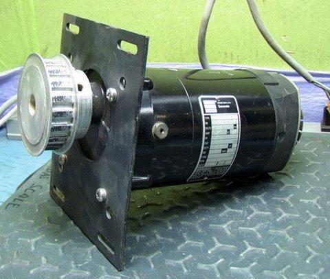 Bodine 180vdc gear motor 417 rpm 1 12 hp variable speed ebay for Variable speed gear motor