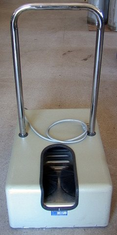 Ultra Clean 1600 Va Motorized Shoe Cleaner As Used At