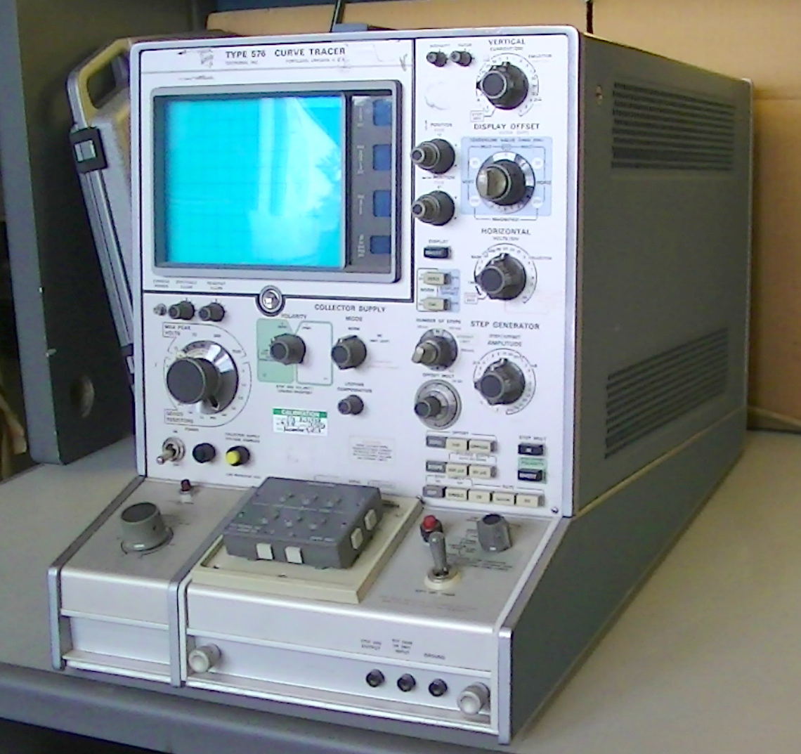 Details about Tektronix type 576 Curve Tracer with 013-0098-00 transistor  adapter